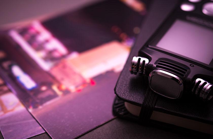 写真とレコーダー