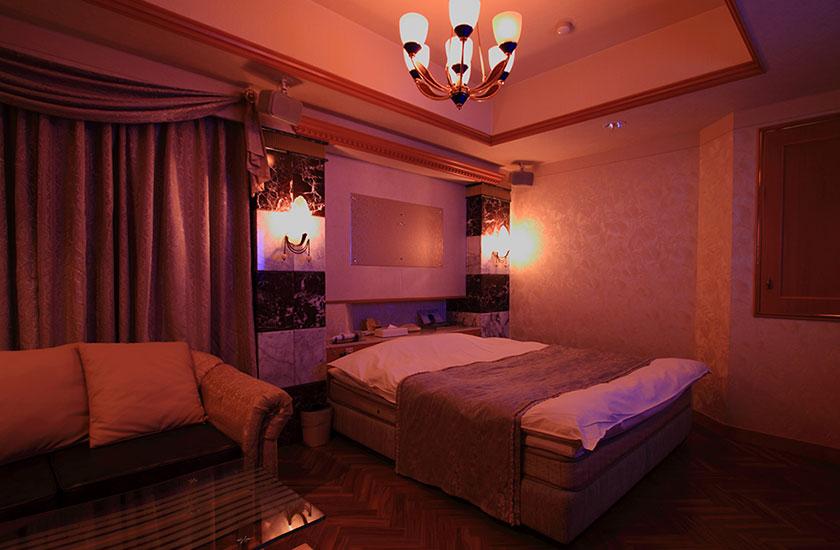 ラブホテルの室内