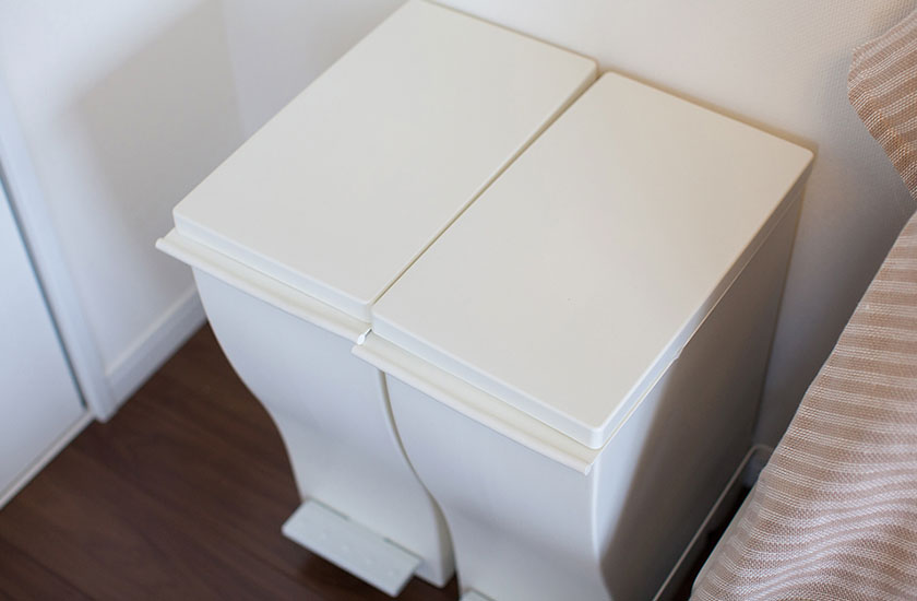 家庭のゴミ箱
