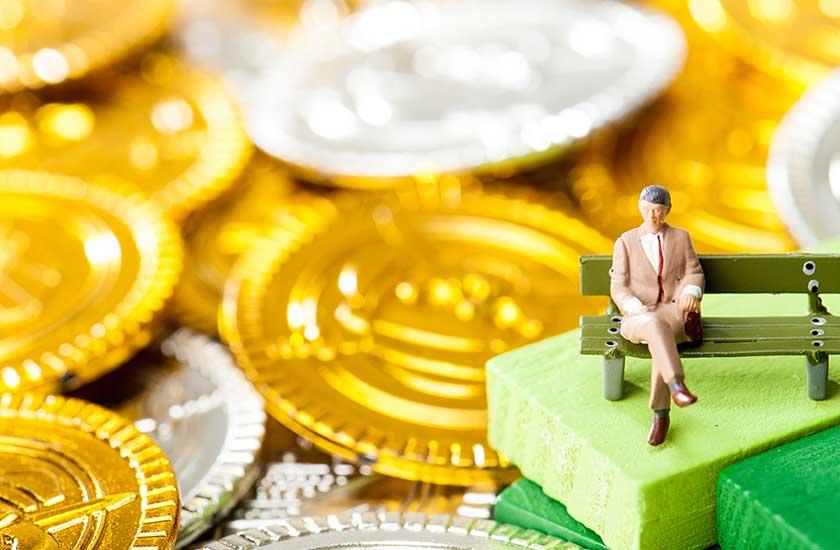 経済的に余裕のある男性のイメージ