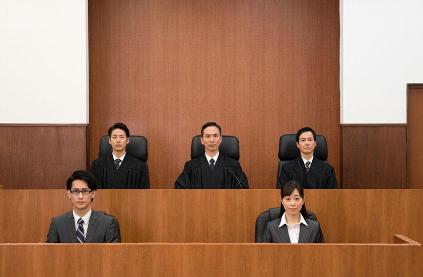 法廷のイメージ