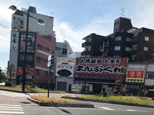 岡山児島線を西へ渡ります。